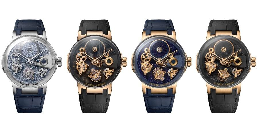 Ulysse Nardin's Executive Tourbillon Free Wheel