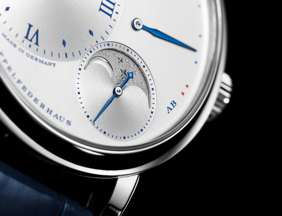 "A. Lange & Söhne Little Lange 1 Moon Phase ""25th Anniversary""  Dial"