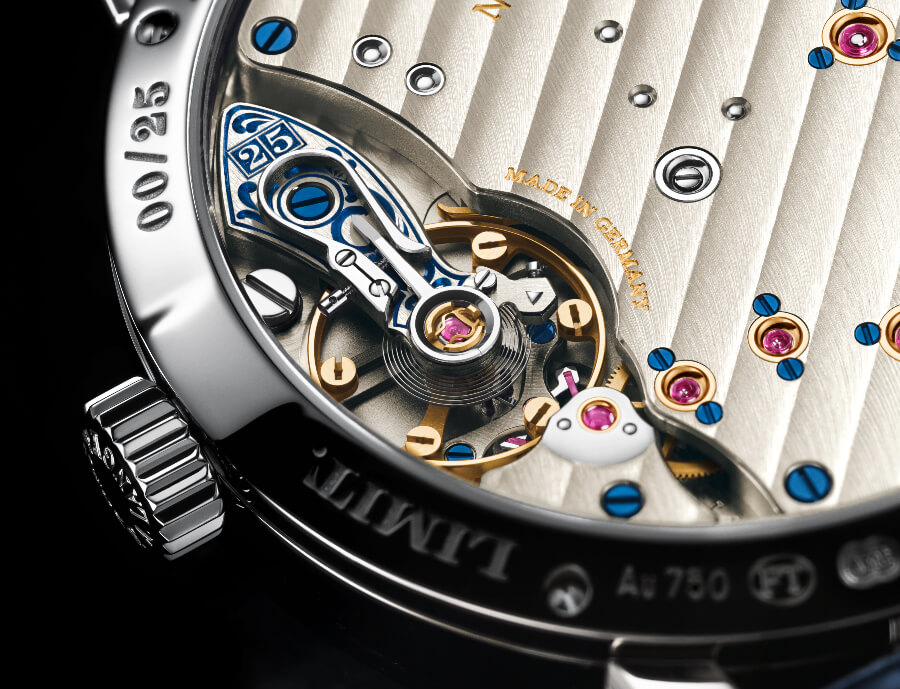 """A. Lange & Söhne Little Lange 1 Moon Phase """"25th Anniversary""""  Hand Engraved"""
