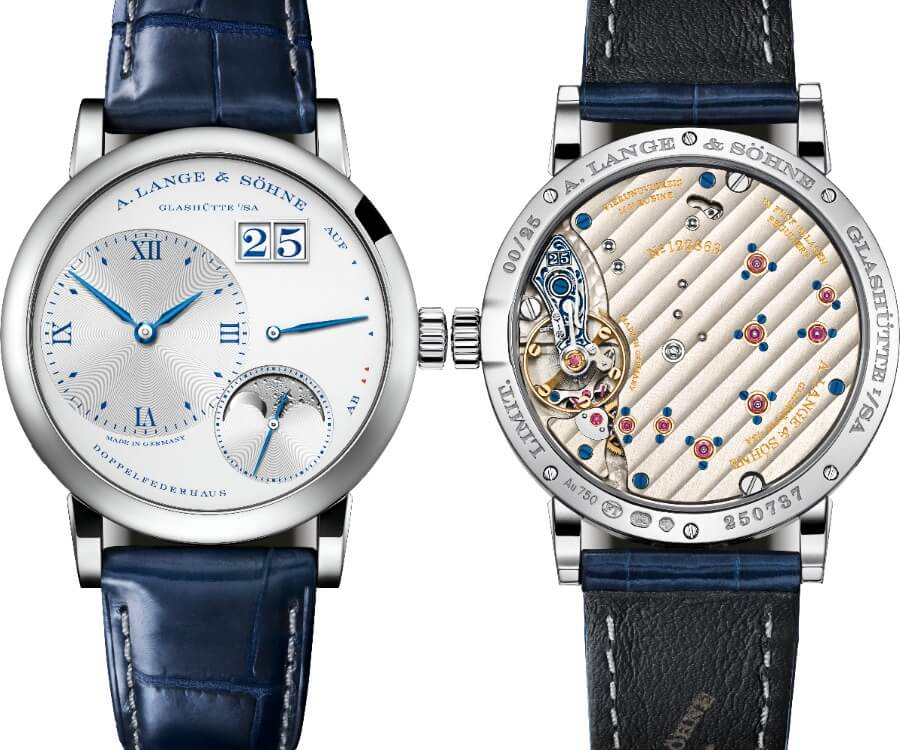 "A. Lange & Söhne Little Lange 1 Moon Phase ""25th Anniversary"" Watch Review"