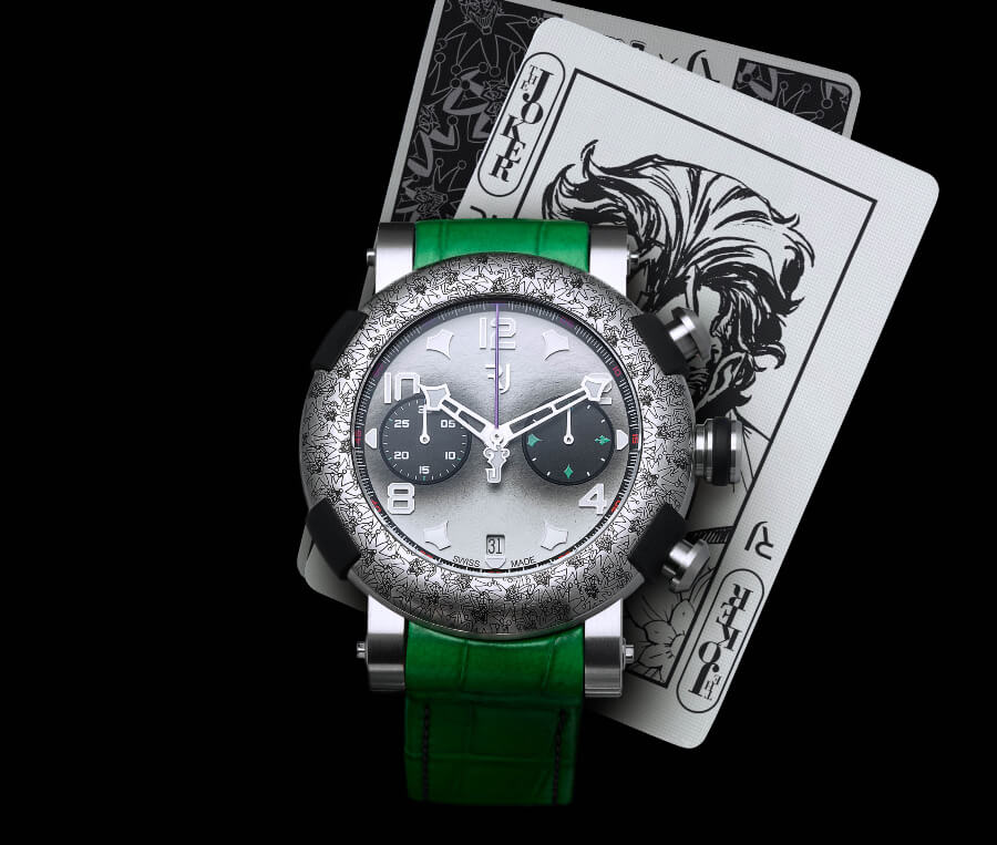RJ Arraw The Joker Watch Review