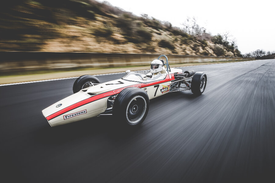 Vintage Car Race Yema Watch