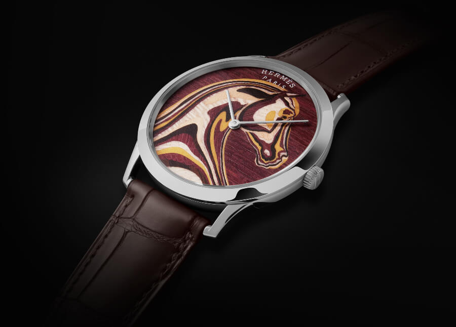 The New Hermes Slim d'Hermès Pégase Paysage