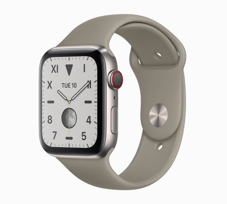 The New Apple Watch Series 5