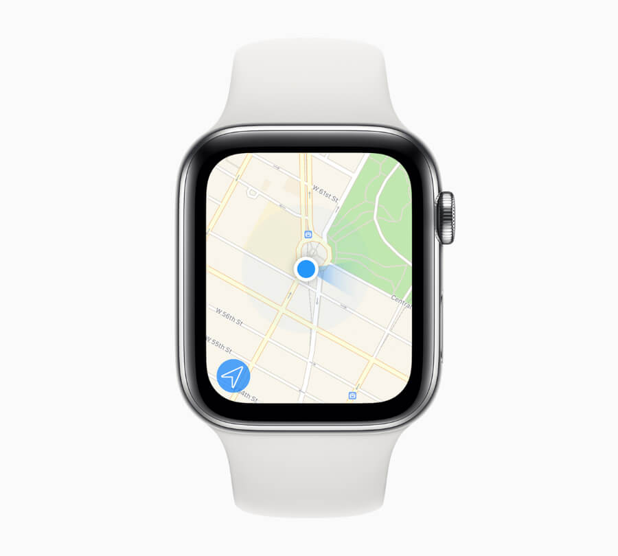 Apple Watch Series 5 Navigation