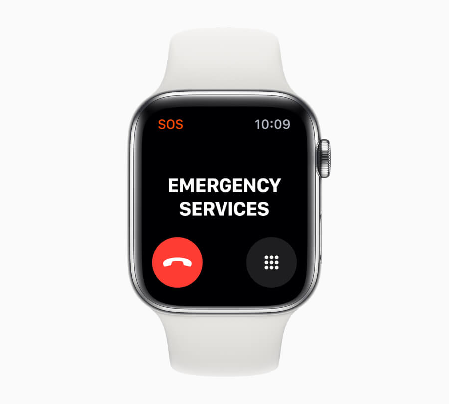 Apple Watch Series 5 Emergency Service