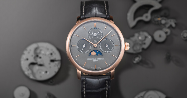 Frederique Constant Presents Two New Slimline Perpetual Calendar Manufacture Timepieces