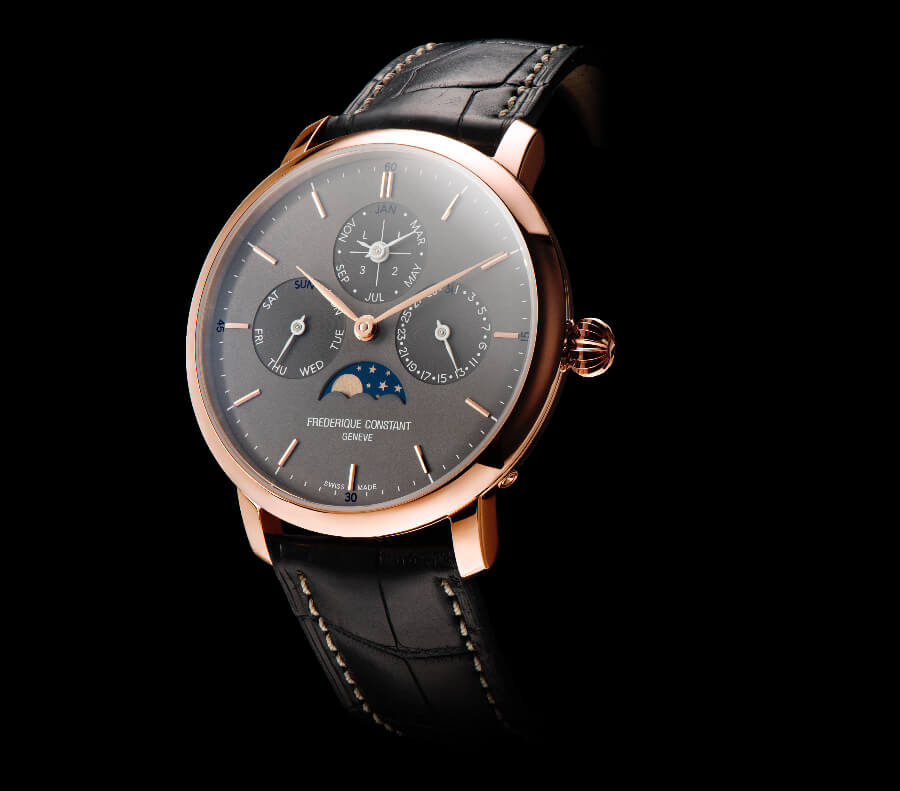 Frederique Constant Slimline Perpetual Calendar Manufacture Watch Review