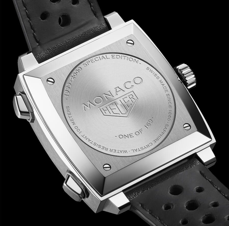 TAG Heuer Monaco 1999–2009 Limited Edition Case Back
