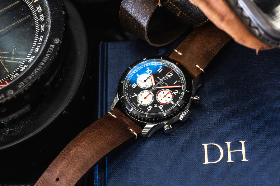 Breitling Aviator 8 B01 Chronograph 43 Mosquito Watch Review