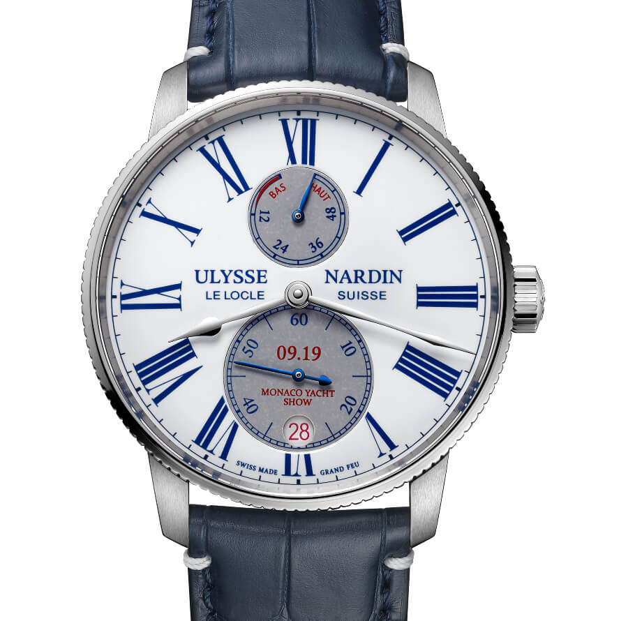 Ulysse Nardin Marine Torpilleur Monaco Yacht Show Limited Edition Watch Review