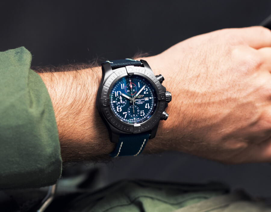 Breitling Super Avenger Chronograph Watch Review