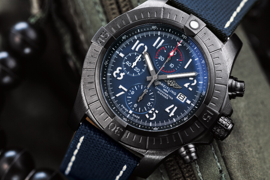Breitling Super Avenger Chronograph 48 Night Mission Watch Review