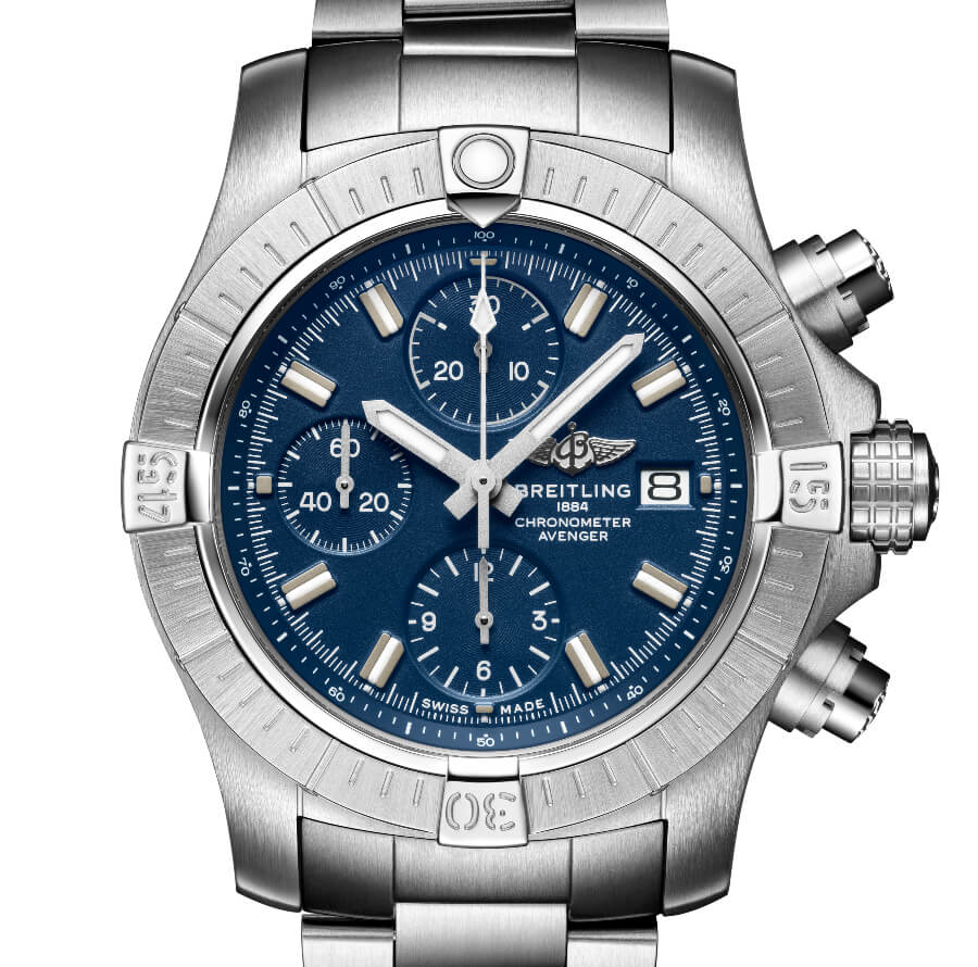 The New Breitling Avenger Chronograph 43