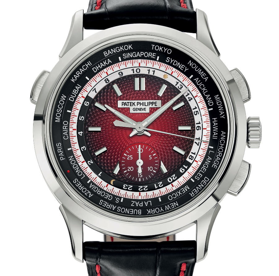 Patek Philippe Ref. 5930G-011 World Time Chronograph Singapore 2019 Special Edition