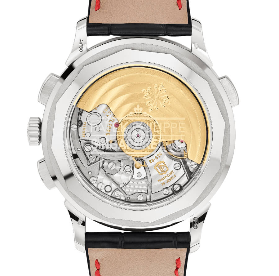 Patek Philippe Ref. 5930G-011 World Time Chronograph Singapore 2019 Special Edition Movement