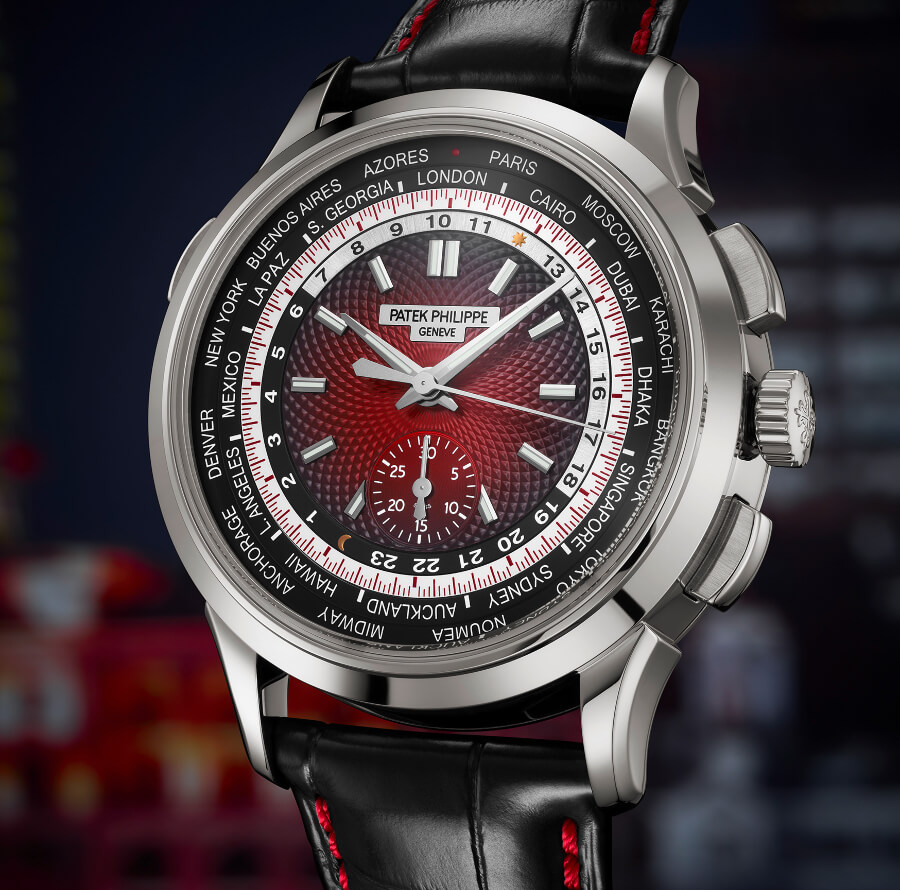 Patek Philippe Ref. 5930G-011 World Time Chronograph Singapore 2019 Special Edition Watch Review
