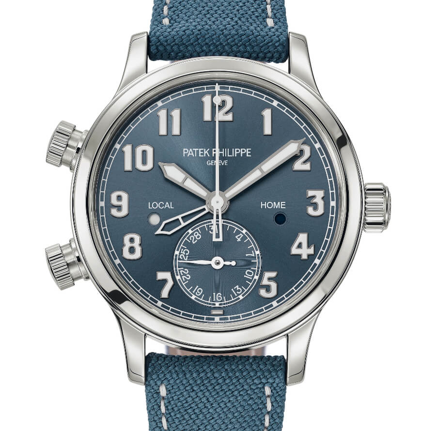 Patek Philippe Ref. 7234A-001 Calatrava Pilot Travel Time Singapore 2019 Special Edition