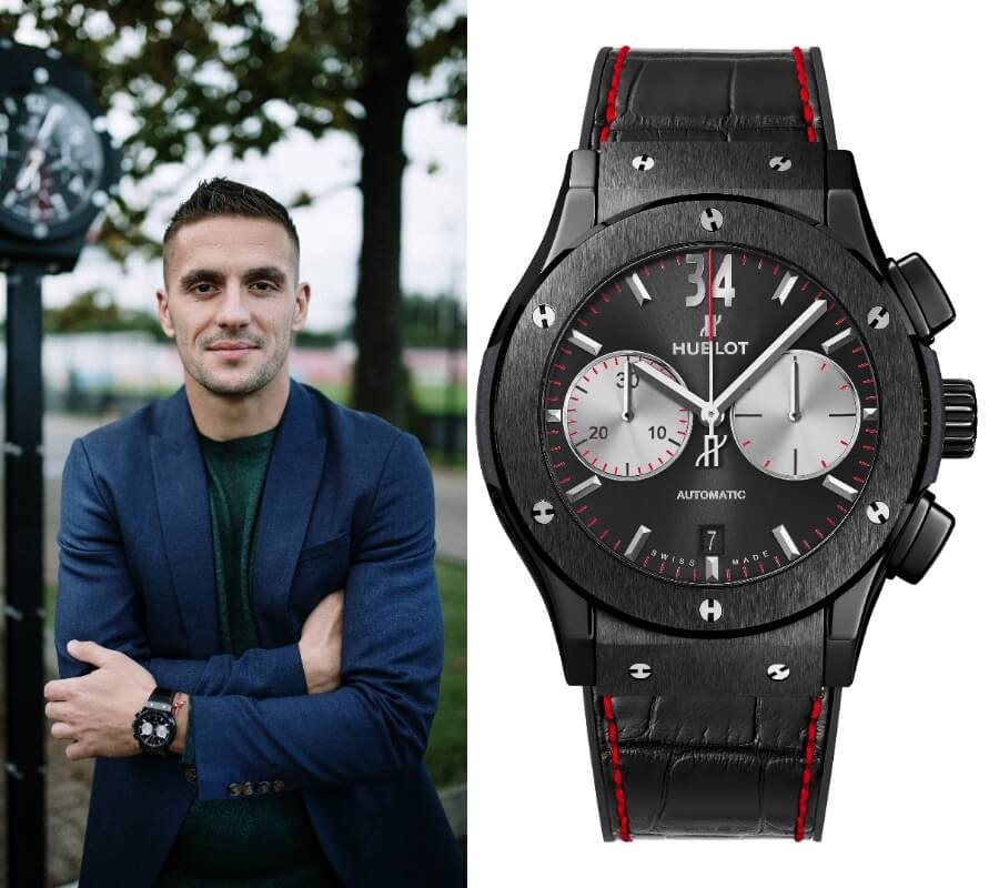 Dusan Tadic Hublot Watch