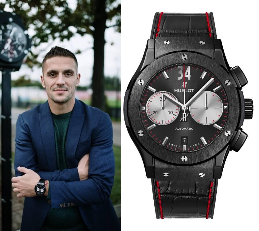 Dusan Tadic Hublot Watch