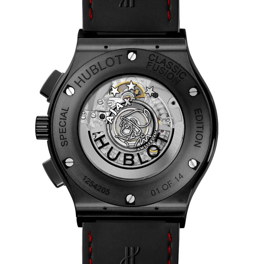 Hublot Classic Fusion Chronograph Ajax Amsterdam Special Edition Movement