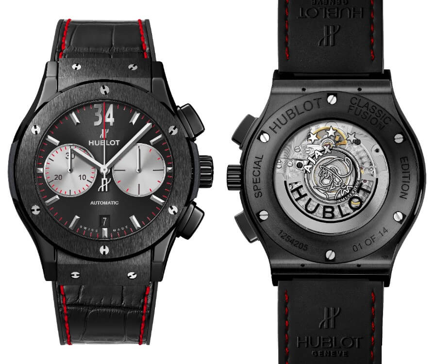 The New Hublot Classic Fusion Chronograph Ajax Amsterdam Special Edition