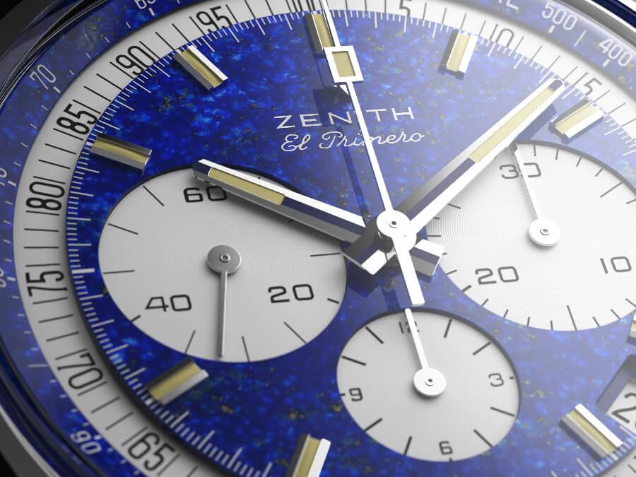 "Zenith ""One-Off"" El Primero Chronograph In Platinum A386 Dial"