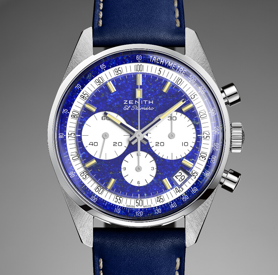 "The New Zenith ""One-Off"" El Primero Chronograph In Platinum A386"