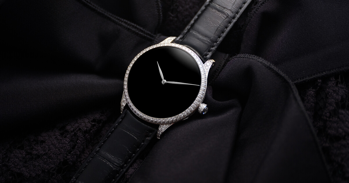H. Moser & Cie. Venturer Concept Vantablack Diamonds (Pictures & Specifications)