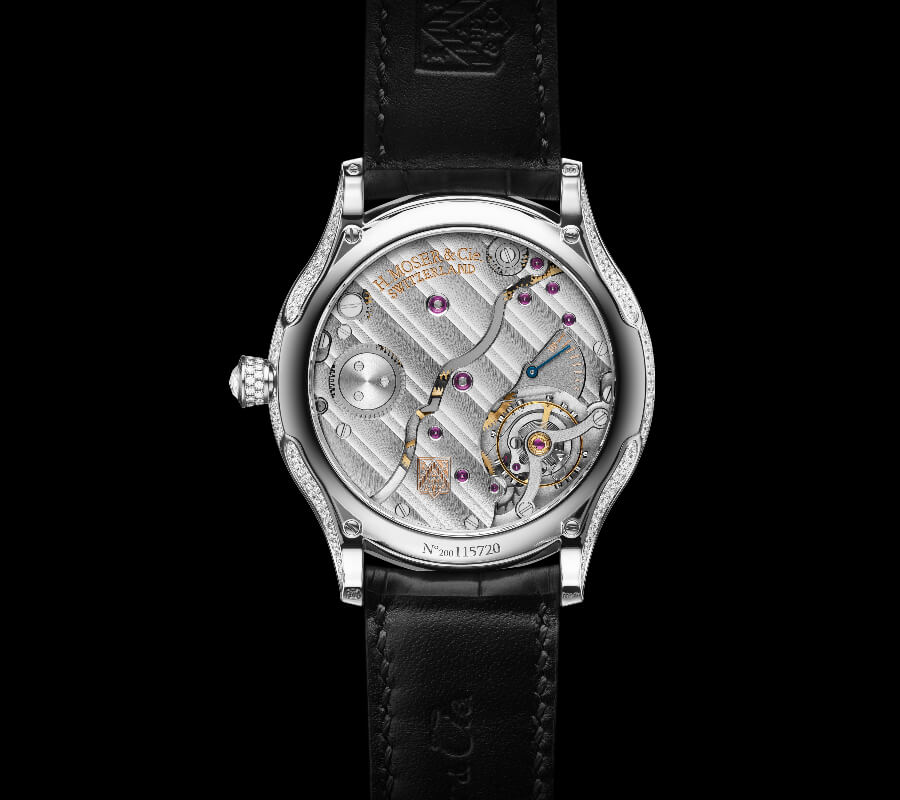 H. Moser & Cie. Venturer Concept Vantablack Diamonds Movement