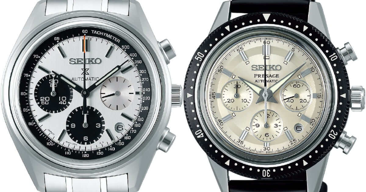 Seiko Automatic Chronograph 50th Anniversary Limited Edition: SRQ029 and Seiko Chronograph 55th Anniversary Limited Edition: SRQ031 (Price and Specs)