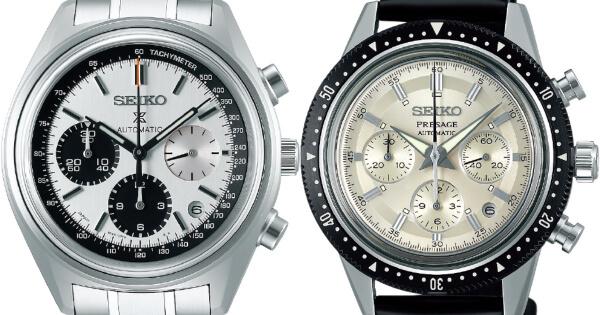 Seiko Automatic Chronograph 50th Anniversary Limited Edition: SRQ029 and Seiko Chronograph 55th Anniversary Limited Edition: SRQ031 (Price and Specs)