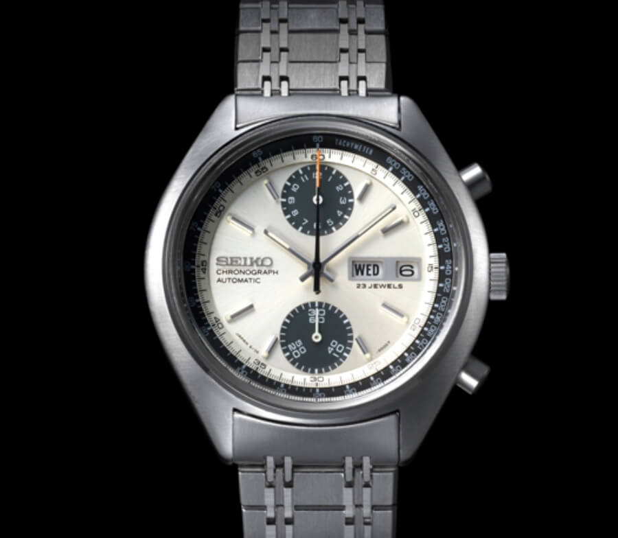 The original Seiko Panda Chrono from 1970
