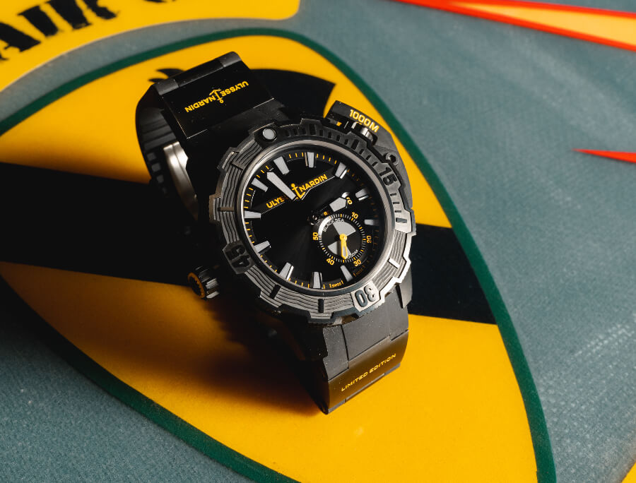 """Ulysse Nardin Diver Deep Dive """"One More Wave"""" Limited Edition Watch Review"""