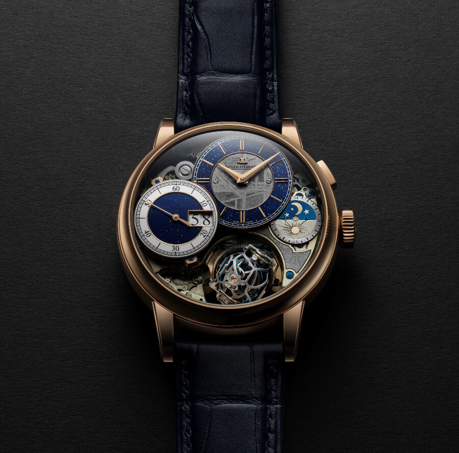 Jaeger-LeCoultre Master Grande Tradition Gyrotourbillon 3 Meteorite Watch Review