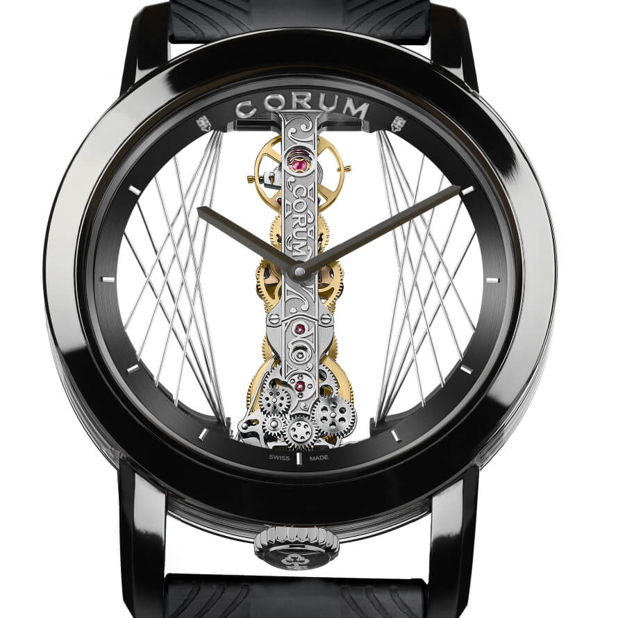 Corum Golden Bridge Round 43 Art Deco Ref 113.955.95/F371 CA59G - B113/03952