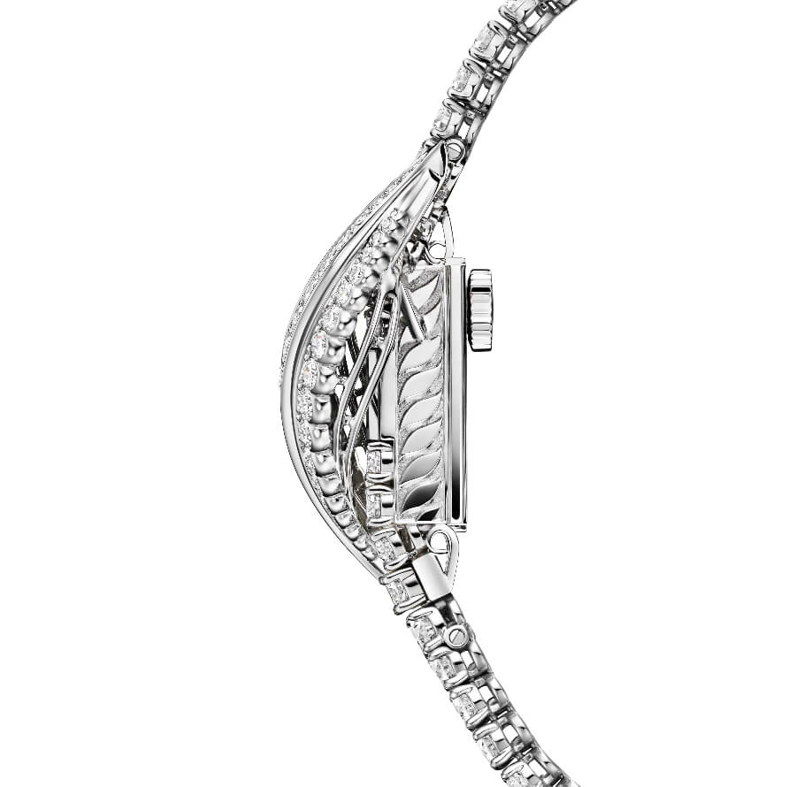 Jaeger-LeCoultre Joaillerie 101 Feuille Watch For Women In White Gold