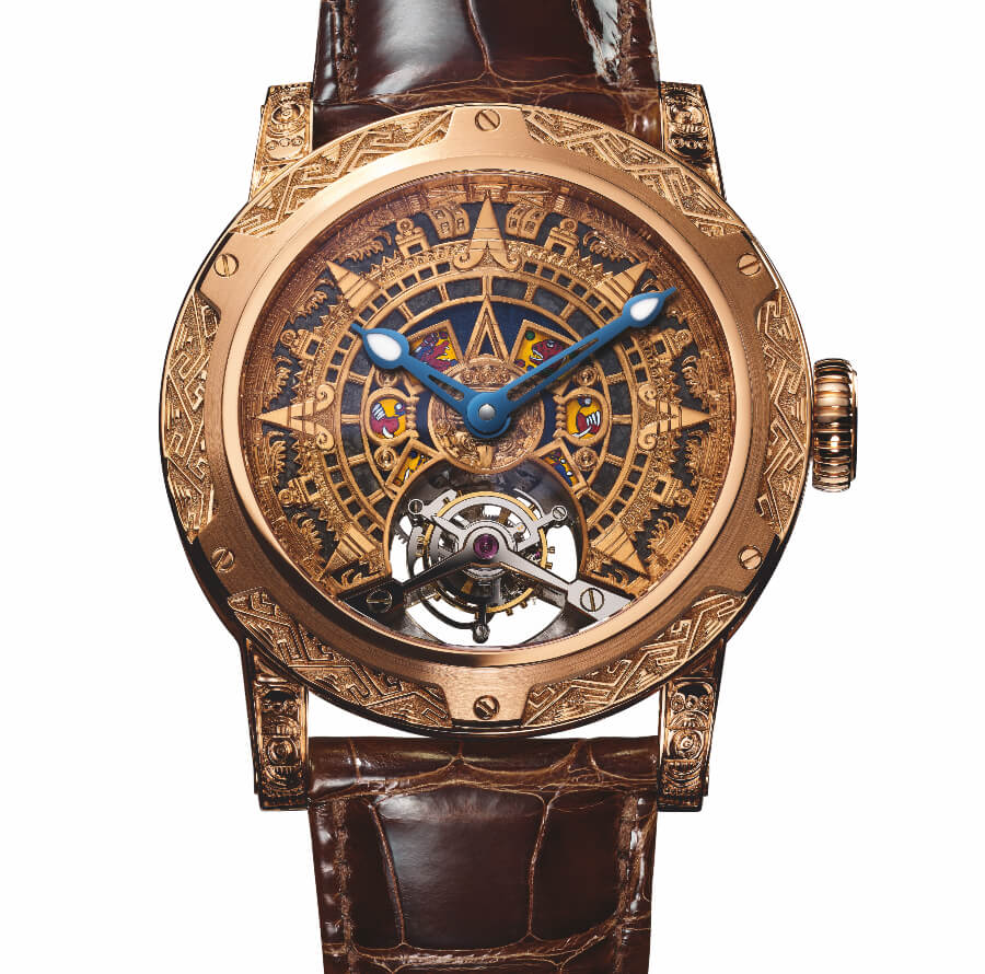The New Louis Moinet Only Mexico