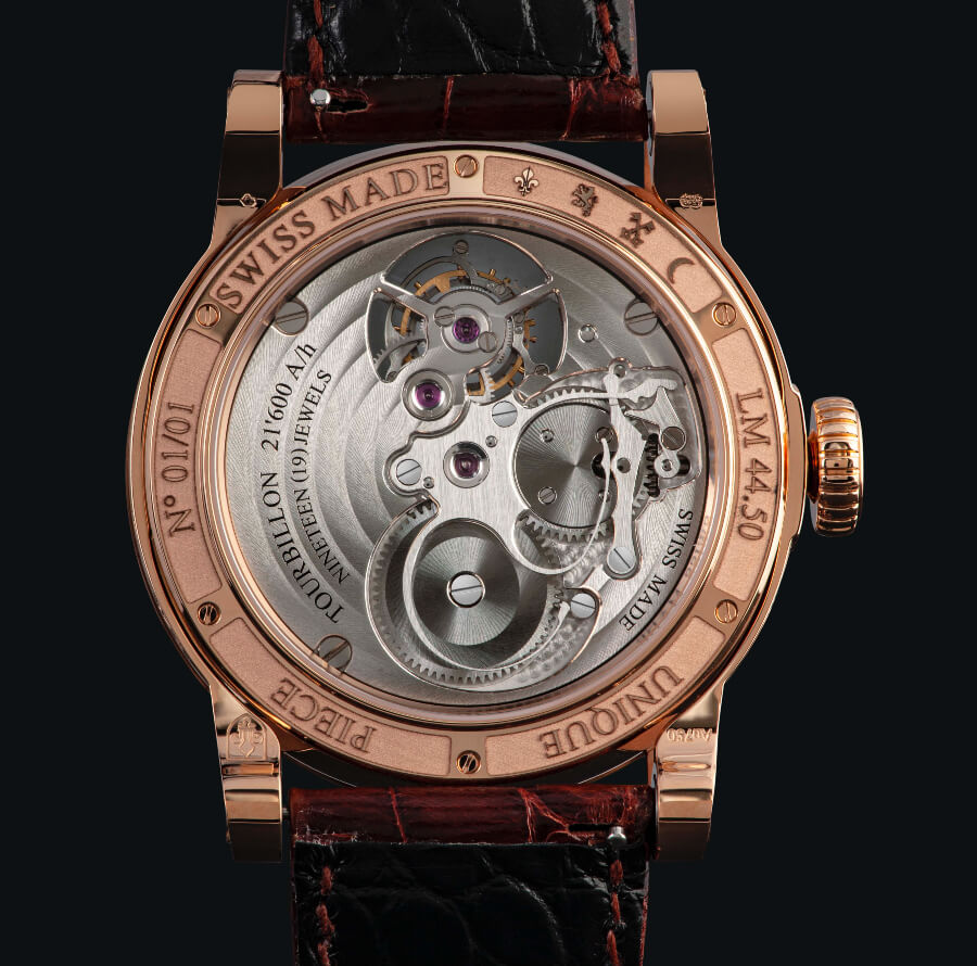 Louis Moinet Only Mexico Movement
