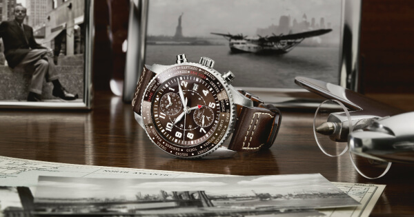 "IWC Pilot's Watch Timezoner Chronograph Edition ""80 Years Flight To New York"" (Price, Pictures and Specifications)"