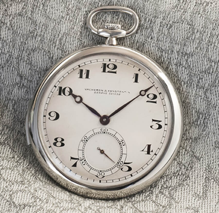 Vacheron Constantin minute-repeater pocket watch, 1928