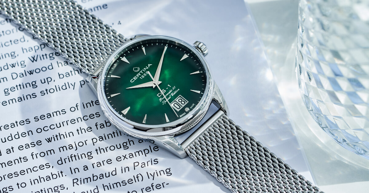 Certina DS-1 Big Date 60th Anniversary (Price & Specifications)