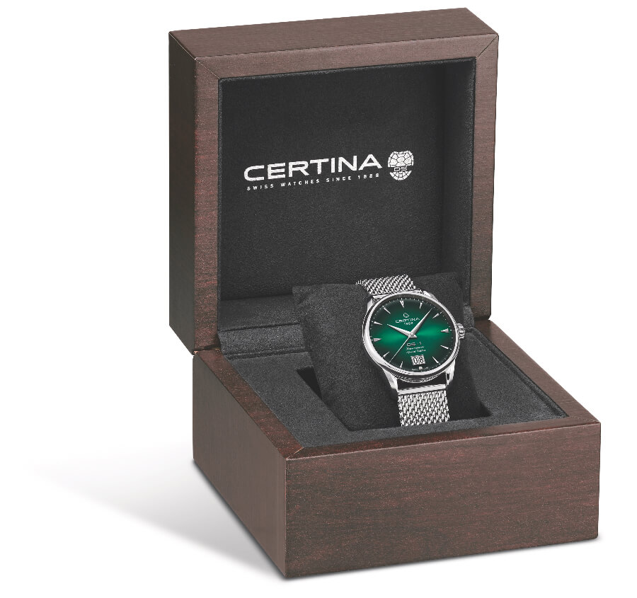 Certina DS-1 Big Date 60th Anniversary Full Box and Papers