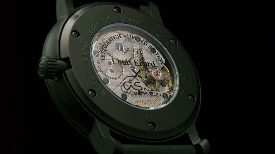 Louis Erard x Alain Silberstein Excellence Regulator Movement