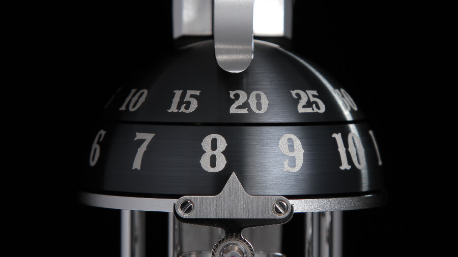 The Unnamed Society Pistol Table Clock