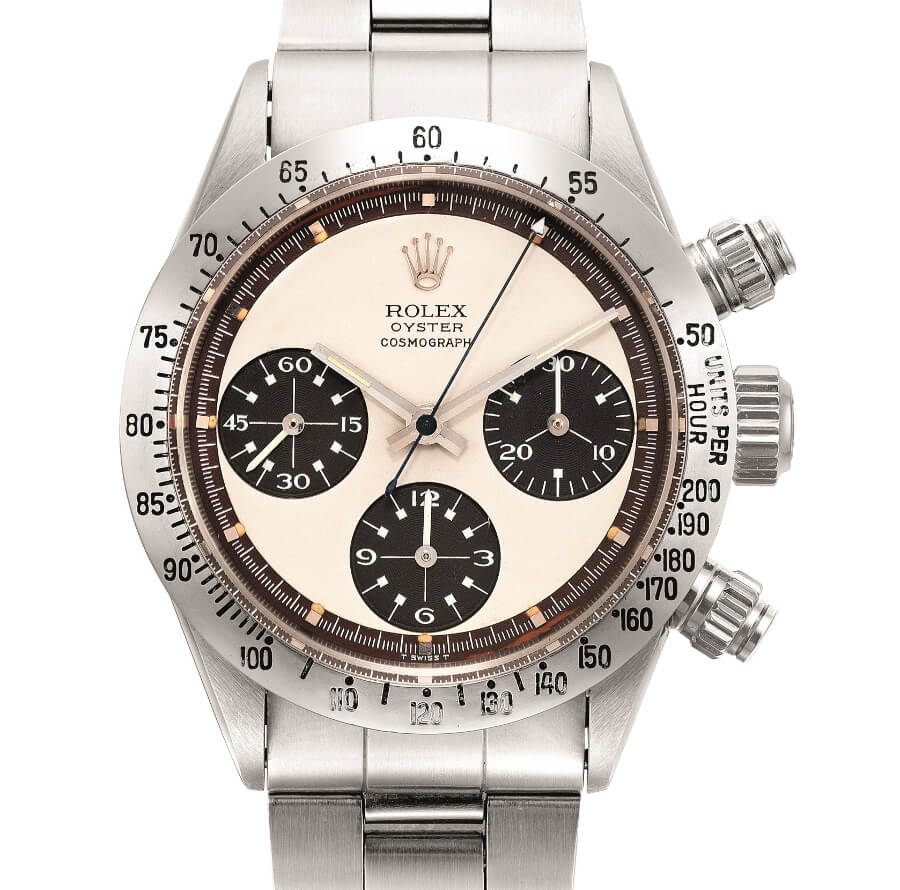 Rolex, Reference 6265 with 'tropical' Panda dial