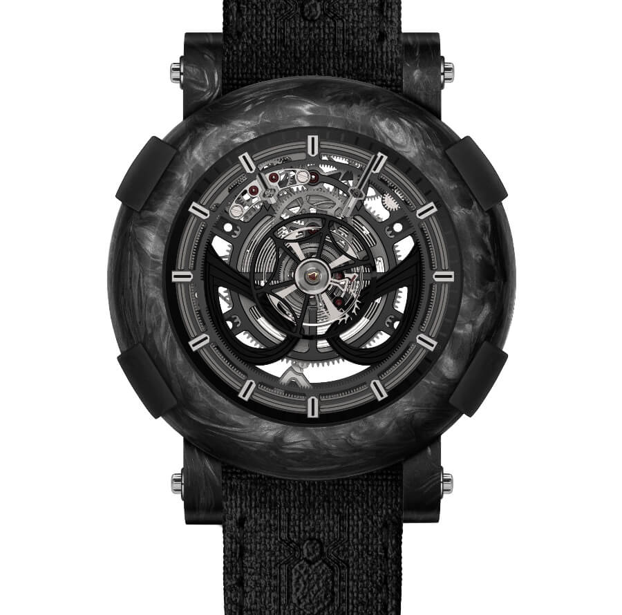 RJ ARRAW Spider-Man Stealth Tourbillon