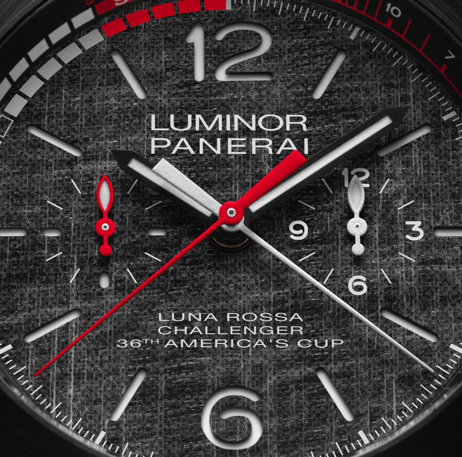 Panerai Luminor Luna Rossa Regatta - 47 MM Dial