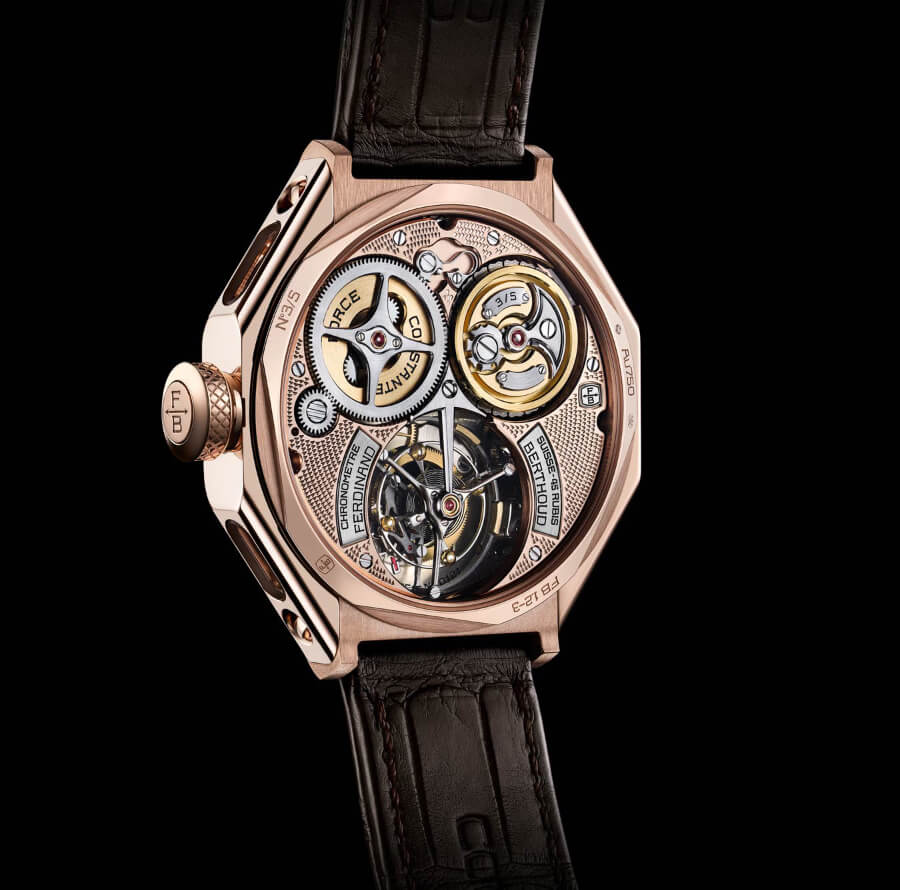 "Ferdinand Berthoud FB 1 ""ŒUVRE D'OR"" Ref. FB 1.2-3 Movement"