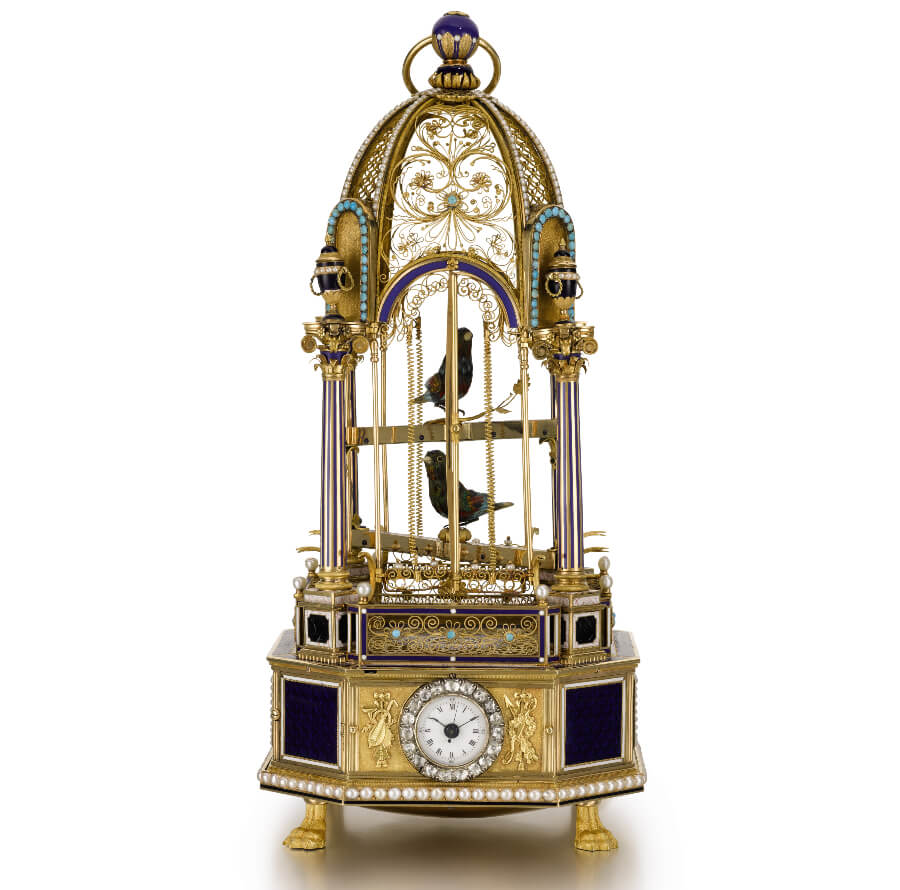 Frères Rochat - Double singing bird cage, circa 1815